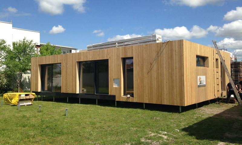 Holzbau j rgen schachner willkommen wir kombinieren for Wohnbox fertighaus